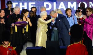 The jubilee concert at Buckingham Palace