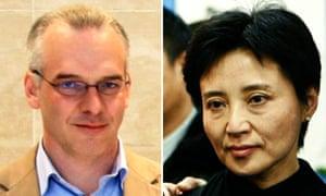 Neil Heywood and Gu Kailai