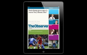 Observer iPad edition design evolution