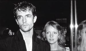 Rupert Everett and Sabrina Guiness, 1982