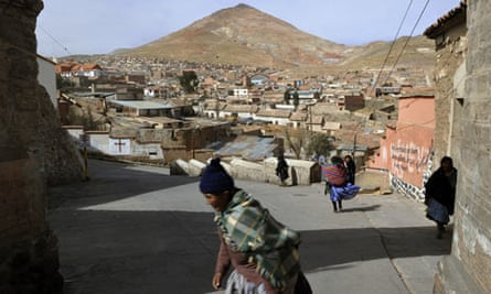Potosi Bolivia mine