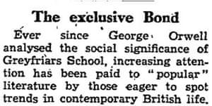 Guardian Bond leader 1958