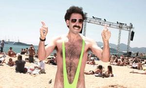 Borat in his mankini