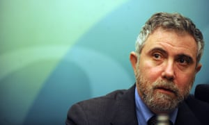 Dr Paul Krugman, 2008 Nobel Laureate, speaks at a press conference held by the Securities and Futures Commission (SFC) in Hong Kong on May 22, 2009