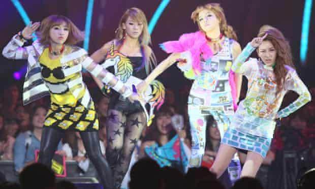 K-pop stars 2NE1