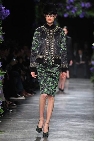 Bomber Jackets: Givenchy Ready to Wear autumn-winter 2011 show