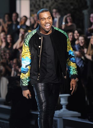 Bomber Jackets: Kanye West performs during the 2011 Victoria's Secret Fashion Show