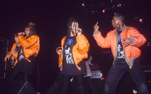 Bomber Jackets: Salt-N-Pepa performing at Brixton Academy in 1992