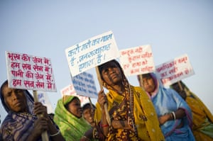 March For Justice: Ekta Parishad march of landless poor from all states of India
