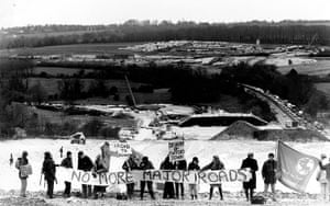 Twyford Down: protest against M3 extension