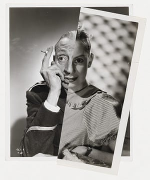 Stezaker Deutsche Borse: Muse (Film Portrait Collage)