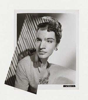 Stezaker Deutsche Borse: Marriage (Film Portrait Collage) LXIV