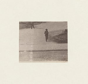 Stezaker Deutsche Borse: Untitled III, Reader, 2012