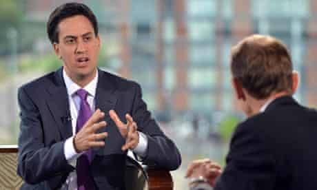 Ed Miliband on Andrew Marr Show