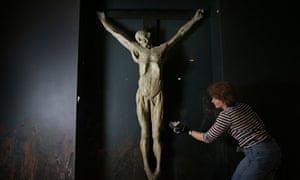 James Legg plaster cast at the Museum of London