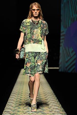 Paris Fashion: Kenzo spring-summer 2013 show