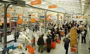 B&Q superstore in Luton