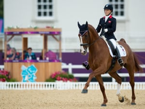 Britain's Sophie Wells and Pinocchio competing at the Paralympics on 2 September 2012. Photograph: Jon Stroud/Rex Features