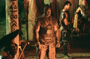 michael clarke duncan: Michael Clarke Duncan in a still from The Scorpion King