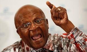 Archbishop Emeritus Desmond Tutu in Cape Town