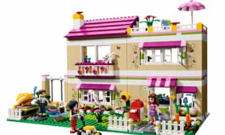 Lego friends big house