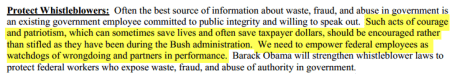 2008 obama whistleblowers
