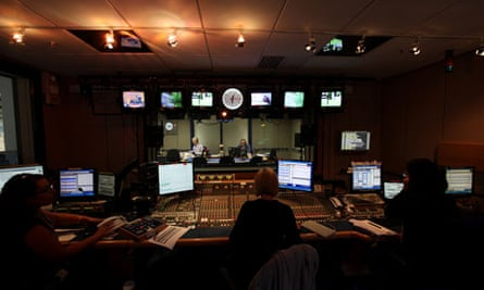 The studio of Radio 4's flagship programme Today