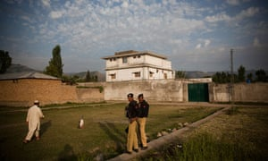 The compound in Abbottabad, Pakistan, where Osama bin Laden was killed in May 2011
