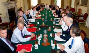 Cameron's reshuffled cabinet