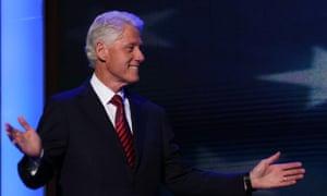 Bill Clinton at DNC