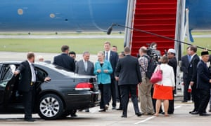 Hillary Clinton arrives in Brunei this morning. Clinton's visit to Brunei will be the last part of her series of visits which has included the Cook Islands, followed by Indonesia, China, Timor-Leste and then on to Russia.