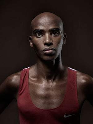 extra Taylor Wessing pix: Mo Farah by Kate Peters