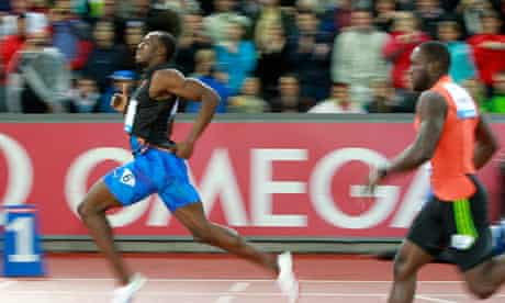 Usain Bolt wins the men's 200m race during the Weltklasse IAAF Diamond League meeting in Zurich