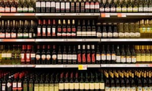 Wine in a shop