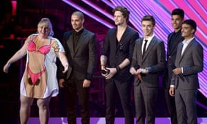 2012 MTV Video Music Awards - Rebel Wislon and the Wanted