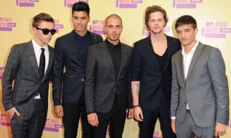 MTV VMA 2012: The Wanted