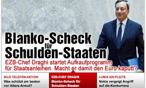 Bild front page September 7 2012