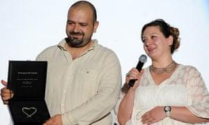 Orwa Nyrabia and his wife, Diana el-Jeiroudi