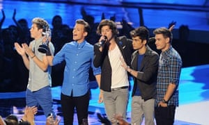 2012 MTV Video Music Awards Show - One Direction