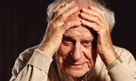 Philosopher Sir Karl Popper (1902-1994)