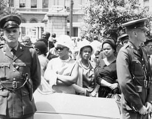 Apartheid gallery: Outside the palace of Justice during the Rivonia Trial, 1963