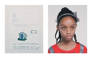 Child poverty: Amira, 8, UK Child Poverty