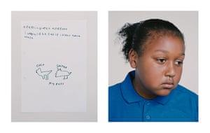 Child poverty: Zakariah, 9, UK Child Poverty