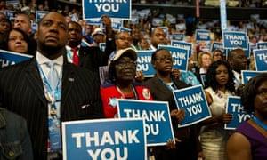 Ohio delegates at DNC