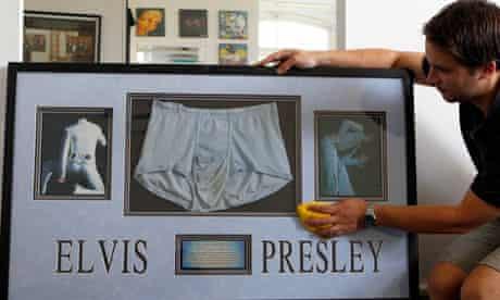 Elvis Presley's soiled underpants