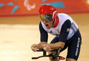 Gold medals: Mark Colbourne
