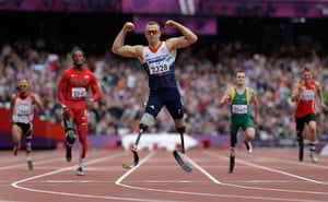Gold medals: Richard Whitehead