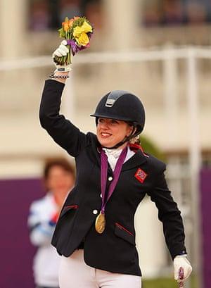 Gold medals: Natasha Baker on Cabral