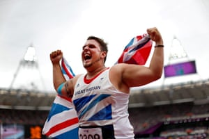 Gold medals: Aled Davies
