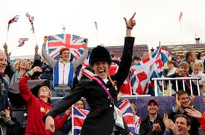 Gold medals: Sophie Christiansen